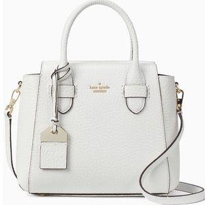 Kate Spade ♠️ NWT White Mini Satchel Crossbody Bag